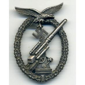 "Luftwaffe flak badge ""ball hinge"""