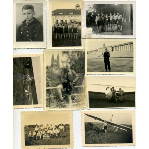 Hitlerjugend photo lot