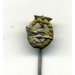 Kriegsmarine S-boot badge 9mm miniature