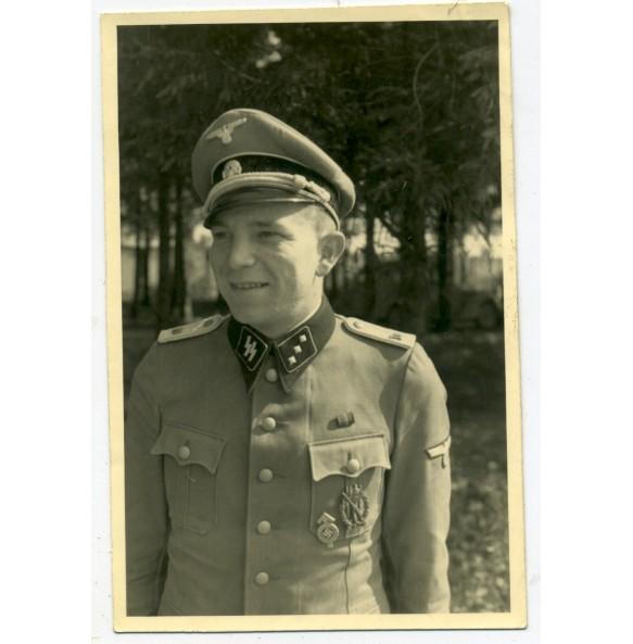 """Private snapshot SS-Unterstürmführer W. Linz """"Das Reich"""""""