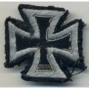 Iron Cross 1st class, cloth/bullion variant!