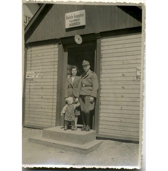 Private snapshot SS border control Vogesen, France