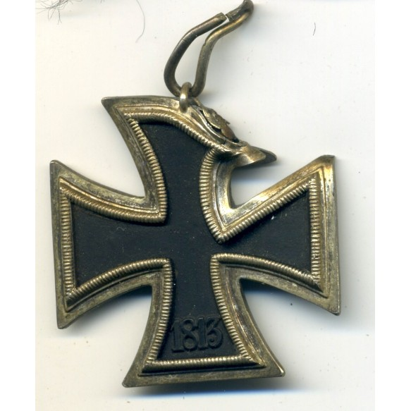 Iron cross 2nd class, battle damaged look