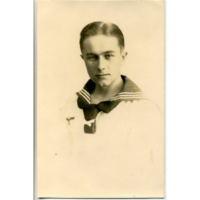 Portrait photo Kriegsmarine sailor