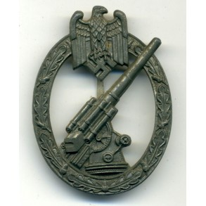 Army flak badge by Foerster & Barth