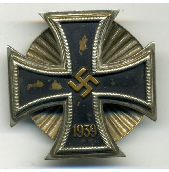 Iron Cross 1st class by W. Deumer, Schinkelform + Screwback!!