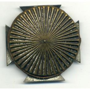 """WW1 Iron Cross 1st class by W. Deumer, screwback, """"schinkelform"""""""