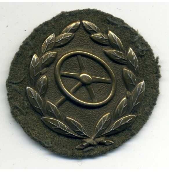 Drivers badge in bronze