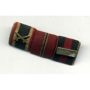 3 place ribbon bar with Prague bar