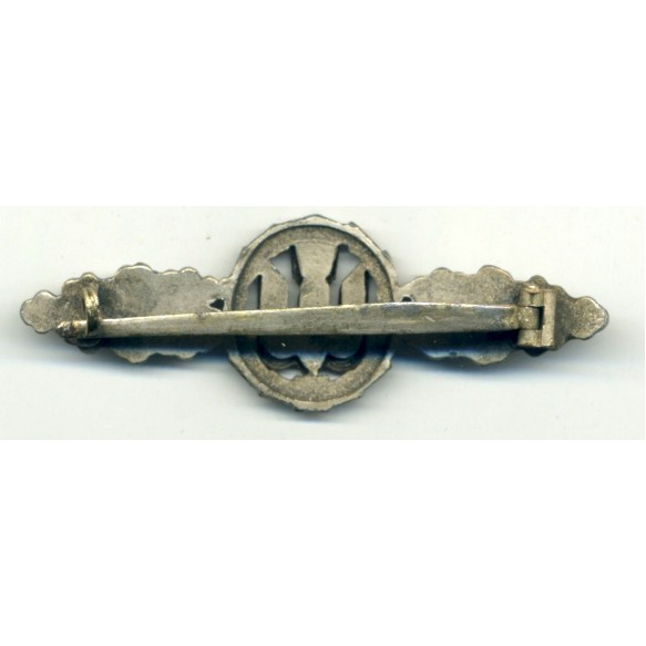 Luftwaffe bomber clasp in silver by P. Meybauer