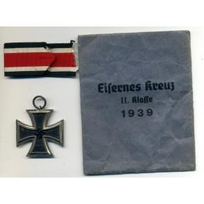 Iron Cross 2nd class by Brüder Schneider, Wien (BSW) + package