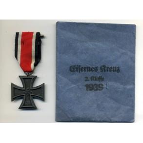 "Iron Cross 2nd class by J.E. Hammer & Söhne ""55"" + package"