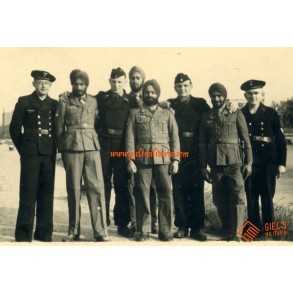 Private snapshot Indian AZAD HIND troops!!!