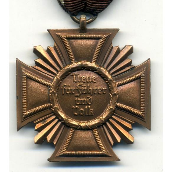 NSDAP 10 year service award by J. Rillebrand. CUPAL
