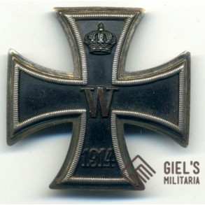 "WW1 Iron Cross 1st class with ""teeth"" attachment"