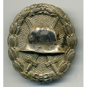 WW1 Wound Badge in silber bu O. Schickle