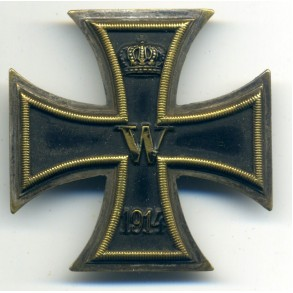 WW1 Iron Cross 1st class by W. Deumer