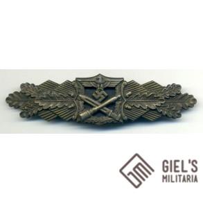 Close Combat Clasp in bronze by J. Feix & Sohn