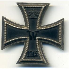 "WW1 Iron Cross 1st class by Gebr. Godet & Co. ""G"""
