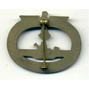 Kriegsmarine U-Boat badge by R. Karneth