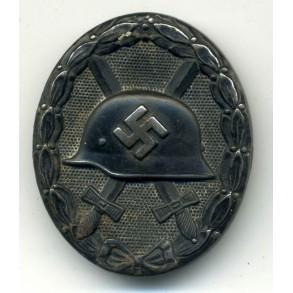 Wound Badge in Black by Klein & Quenzer, triple marked!!