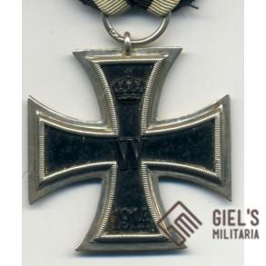 WW1 Iron Cross 2nd class, maker marked