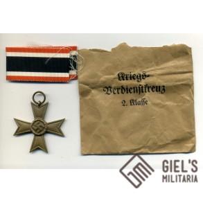War Merit Cross 2nd class w/o swords by Ochs & Bonn + special package!!!