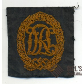 DRL sport badge in bronze, cloth version