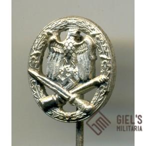 General Assault Badge 16mm miniature MINT