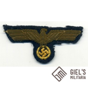 Kriegsmarine breast eagle for officers