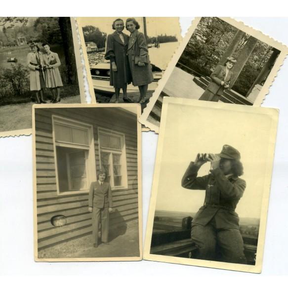 Private snapshots Luftwaffe Helferin